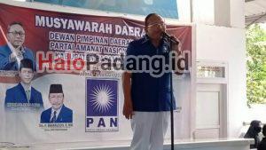 Ini Pesan Zulhas untuk Baharuddin yang Jadi Ketua PAN Pasbar Lagi