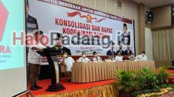 """Buka Rakorda Gerindra Sumbar di Bukittinggi, Ahmad Muzani: Saya Sedang """"Mengkloning"""" Andre Rosiade 4"""