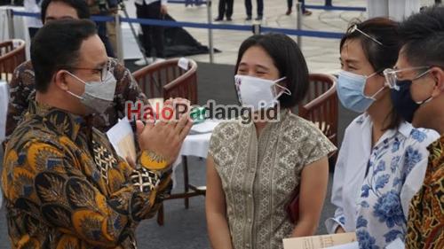 Ada Sosok Mantan Istri Ahok Saat Anis Gelar Kerja Sama Kota Tua-Sunda Kelapa 1