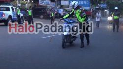 Polisi Amankan Puluhan Sepeda Motor Hasil Balap Liar di Padang 3