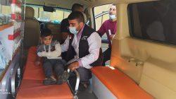 Ini Lengkapnya Foto-foto Ambulans berlogo ACT dan Pemko Padang di Tengah Konflik Palestina-Israel-10