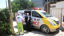 Ini Lengkapnya Foto-foto Ambulans berlogo ACT dan Pemko Padang di Tengah Konflik Palestina-Israel-14