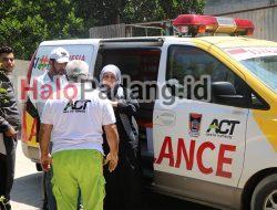 Ini Lengkapnya Foto-foto Ambulans berlogo ACT dan Pemko Padang di Tengah Konflik Palestina-Israel