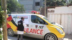 Ini Lengkapnya Foto-foto Ambulans berlogo ACT dan Pemko Padang di Tengah Konflik Palestina-Israel-7