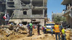 Ini Lengkapnya Foto-foto Ambulans berlogo ACT dan Pemko Padang di Tengah Konflik Palestina-Israel-9