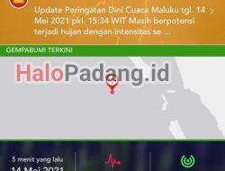 Gempa 7,2 SR Guncang Sebagian Wilayah di Sumbar, Belum Ada Laporan Kerusakan