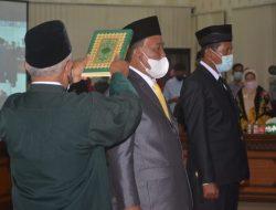 Paripurna DPRD Agam, Dua Anggota PAW Dilantik