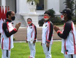 Atlet Olimpiade Indonesia Dilepas Presiden di Istana Negara