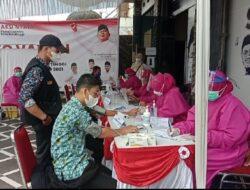 DPC Bukittinggi Targetkan 5 ribu, Andre Rosiade: Gerindra Terus Fokus Vaksinasi Covid-19