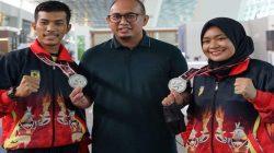 Bawa Pulang Dua Perak dari Papua, Karateka Sumbar Diguyur Bonus dari Andre Rosiade